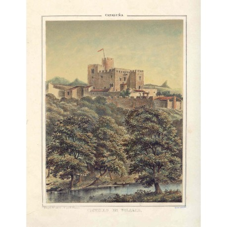 España. Cataluña. Barcelona. «Castillo de Vilasar» F.J. Parcerisa