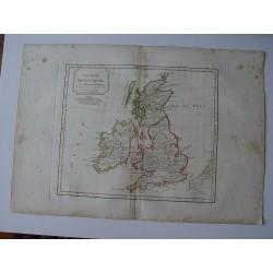 Les Isles Britanniques por Robert de Vaugondy-Delamarché