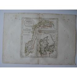 «Norwege el Royaume de Danemarck» par Robert de Vaugondy-Delamarche.