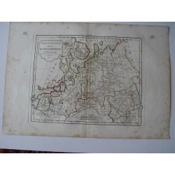 «Partie Septentrionale de la Russie Européenne» par Robert de Vaugondy-Delamarché 1806