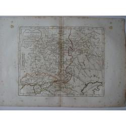 «Partie Meridionale de la Russie Europeenne Petit Tartarie» par Robert de Vaugondy-Delamarché 1806