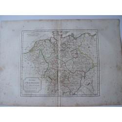 L'Empire d'Allemagne par Robert Vaugondy-Delamarché 1800