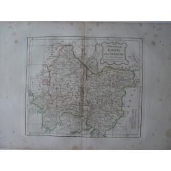 «Circles de Baviere et d»Autriche» par Robert de Vaugondy-Delamarché 1800
