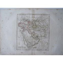 «Turquie d'Asie, Arabie, Perse, Tartarie Independante par Robert de Vaugondy-Delamarché 1806