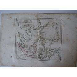 Les isles de la Sonde, Moluques, phillipines, carolines et bmariannes par Robert de Vaugondy-Delamarché