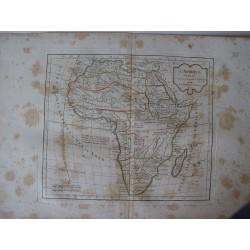 «L'Afrique» par Robert de Vaugondy-Delamarché