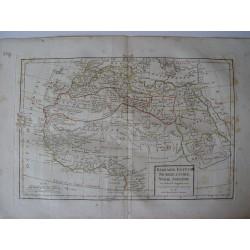 «Barbarie, Egypte, Nigritie, Guinee, Nubie, Abissinie par Robert de Vaugondy-Delamarché