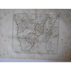 «Congo, Cafrerie» par Robert de Vaugondy-Delamarché 1804