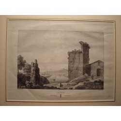Spain. Catalonia. Tarragona. 'Amposta' Alexandre Laborde (1810-11)