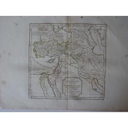 «Carte des Premiers Ages du Monde» par Robert de Vaugondy-Delamarché