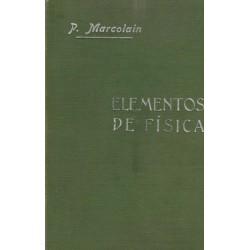 Elementos de Fisica moderna y nociones de meteorología por R. Pedro Marcolain San Juan.