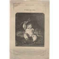 The Infant Hercules De una pintura de Sir Joshua Reynolds,  8 de agosto de 1846