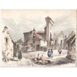 Frederick Mialhe (1810-1881). Litografia coloreada.