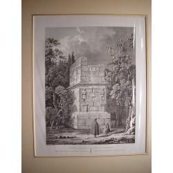 España. Cataluña. Tarragona. «Sepulcro de los Escipiones» Alexandre Laborde (1810-11).