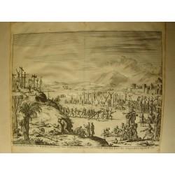 «d' Aal-oude Kruis-strassen der Romeinem ..... publicado por Wilhems Goeree en 1690 grabado por Jan Luykens