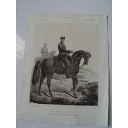 «Exmo. Sr.D. Antonio Ros de Olano conde de Almina» 1860  litografia por E. Varela