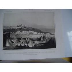 «Vista de la Alcazaba pueblo y Tetuan» 1860