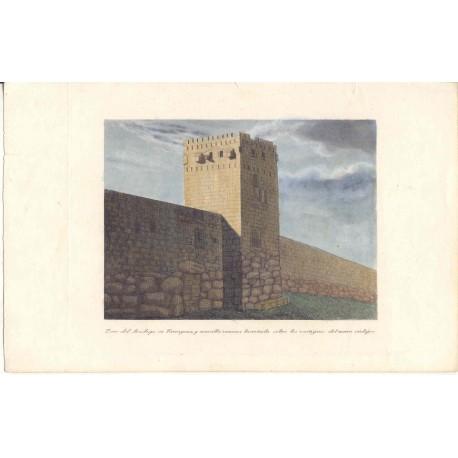 España. Cataluña. «Torre del Arzobispo de Tarragona y muralla romana»