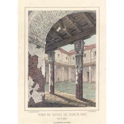 España. Toledo. Ocaña.  «Ruinas del Castillo del Duque de Frías»