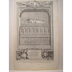 «The Monument of King Richard II and Ann his Queen in Westmister Abbey» Dib. Gravelot.Grabó Goldar (Oxford, 1729- Londres,1795).