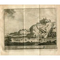 Portugal. Vue du Port &de l'Eglise de Bellem & de celle de S.Amat, grabado 1715 por Alvarez de Colmenar.