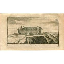 Portugal. Ferreira, grabado 1715 por Alvarez de Colmenar.