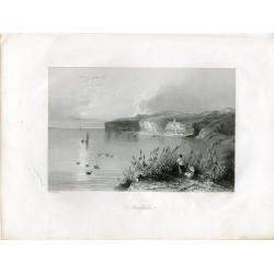 Nicopoli grabado por R. Wallis sobre obra de W.H. Barlett