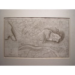 España.  Cataluña. Lérida. «Plano de Lérida» Alexandre Laborde (1810-11)