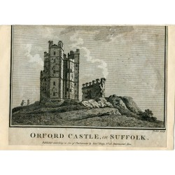 Inglaterra. Oxford Castle in Suffolk 1786
