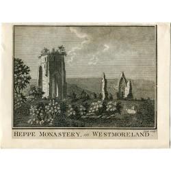 Grabado Heppe Monastery in Westmoreland 1786 por Coole
