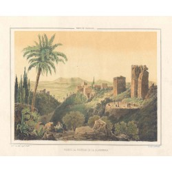 Spain. Andalusia. Granada. 'Walks around the Alhambra'