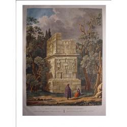 Spain. Catalonia. Tarragona. 'Scipions sepulchre' Alexandre Laborde (1810-11).