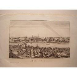 «Mentz» Grabó el artista inglés, nacido en Londres, Francis Garden.