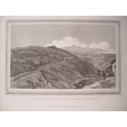 Italia. 'Distant view of Mafra&the Mountains of Cintra' Engraved by Heath.