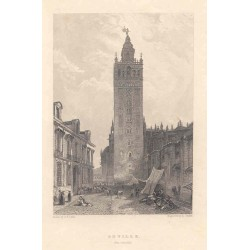 Spain. Andalusia. 'Giralda at Seville''