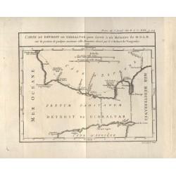 España. Andalucía.  «Plano del estrecho de Gibraltar»