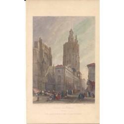 España. Valencia. «Plaza de la Catedral»
