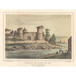Spain. Ciudad Real. 'Castillo de Aldea del Rey'
