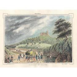Spain. Baleares. Palma de Mallorca. 'Paisaje del Castillo de Bellver'