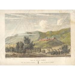 Spain. Castellon. 'Villa Fames view' Alexandre Laborde (1810-11)