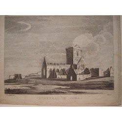Suiza. 'Cathedral in Jona' Painted by Moses Griffiths. Engraved by Peter Mazell.