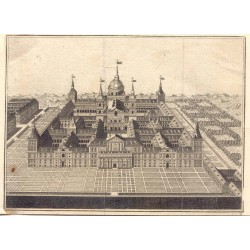 Spain. Madrid. 'Escorial view'