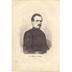 «D. Rafael de Echagüe» (San Sebastián,1815-Madrid, 1887) Gobernador general de Filipinas
