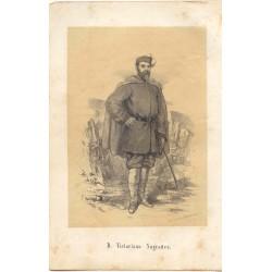 «D. Victoriano Sugrañes» Por Eusebio Planas (1833-1897) Teniente Coronel (catalán). muerto en la batalla de Tetuán  en 1860.