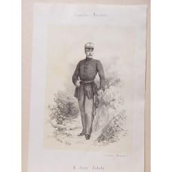 «D. Juan Zabala de la Puente» (Lima, 1804-Madrid,1879) Político y militar. Participó en la batalla de Tetuán.