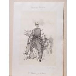 «D. Antonio Ros de Olano» (Caracas,1808-Madrid,1886) Participó en la guerra de Africa.