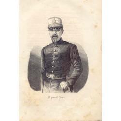 «El general Garcia» Militar del siglo XIX. Firmado por Llopis