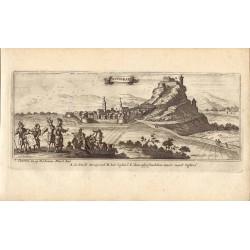 Croacia. «Novigrad»  Escuela flamenca. I. Peeters. Por Gaspar Bouttats (Anvers,1640-1695)