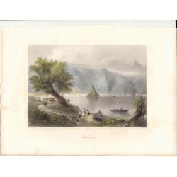 Rumanía. «Babacai» Dibujó William Henry Barlett (1809-1854).Grabó S. Bradshaw