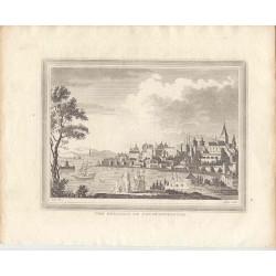 Turquía. «The Seraglio  at Constantinople» (actual Estambul). Dibujó Metz. Grabó William Angus (1752-1821)